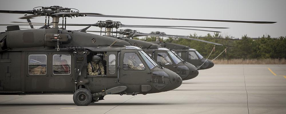 UH-60L Black Hawk Helicopters