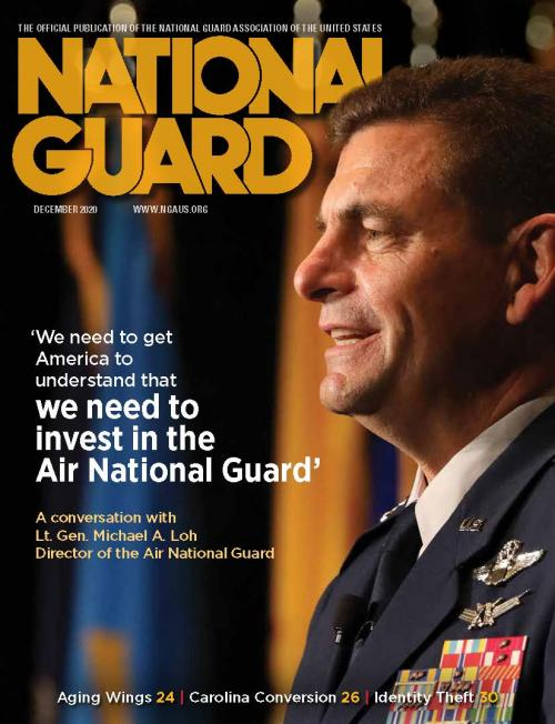 National Guard Magazine December Cover