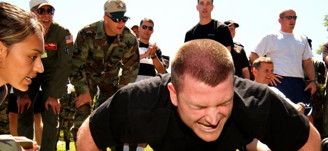 Airman fitness test