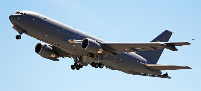 KC-46 in flight