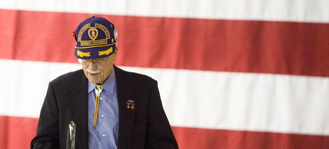 Purple Heart Retired Veteran