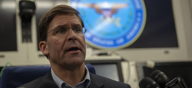 Army Secretary Mark Esper