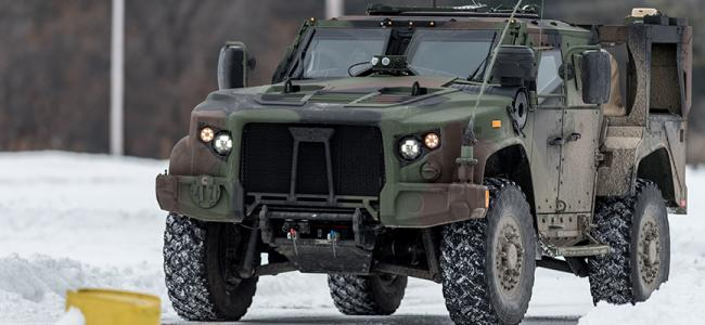JLTV Winter Shot